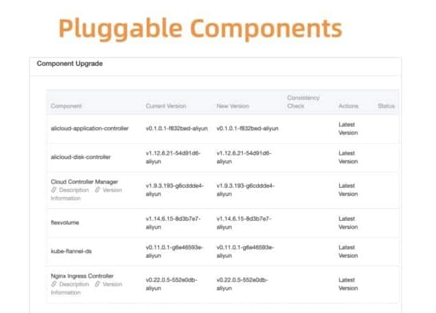 Flexible and pluggable components