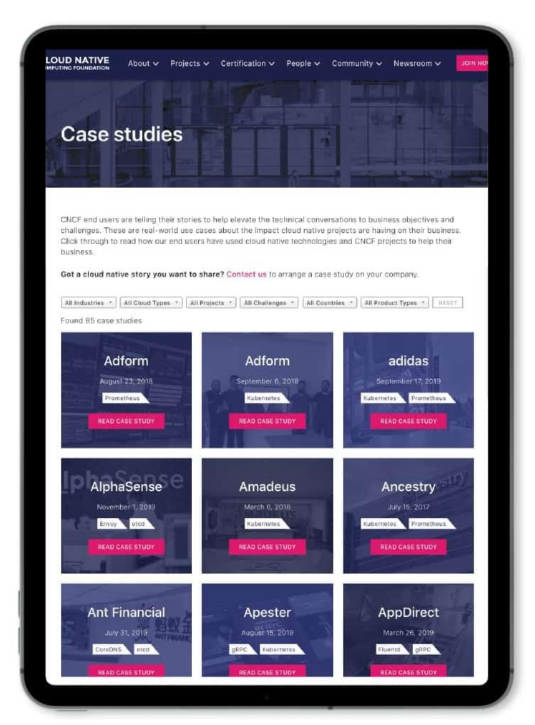 End user case studies